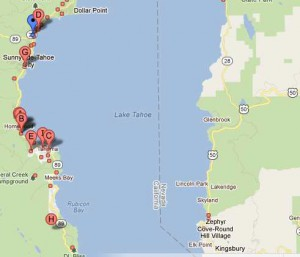 West Shore of Lake Tahoe Real Estate Listings
