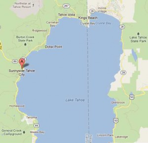 Tahoe City Homes Map
